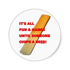 Chip A Reed Sticker
