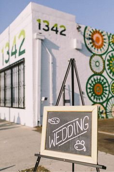 Katherine & Mark's Modern Wedding at Studio 1342 in Los Angeles - www.sweetlittlephotographs.com