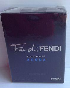 Fan Di Fendi Acqua Cologne by Fendi 100 Mle Fl. Fendi, Cologne, My Favorite Things, Bottle, Nature, Eau De Toilette, Toilets, Naturaleza, Flask