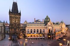 Czech Republic - Casa Municipal de Praga