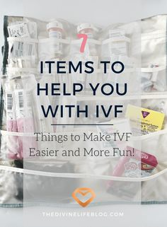 Ivf survival kit care package a sweet idea of course i say put 7 items to help you with ivf solutioingenieria Images