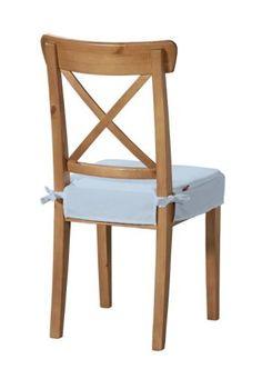 Sedák na stoličku Ingolf 133-35 pastelovo modrá Kolekcia Loneta