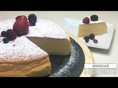 VIDEO : the best cheesecake in the world with only 3 ingredients and gluten-free - possibly this recipe is the best cake or cheesecake that you have eaten in your life, and it is not the japanese cake, but the . Best Cheesecake, Cheesecake Recipes, Japanese Cake, Peruvian Recipes, Gluten Free Baking, Sans Gluten, Sweet Bread, Good Food, Pudding