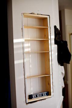 Built in cabinet how to @ Tidbits from the Tremaynes  http://renovandlove.com/entreprise-renovation-ile-de-france/  Renov&Love - Entreprise de Rénovation 12 route du pavé des gardes, bat 5 92370 chaville 09 70 73 18 99  #renovation #appartement #paris #déco #maison #decorateur #decoration #relooking #cuisine #salledebain #studio