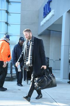 en route to Wisconsin for Week 13 vs. the Packers (11/29/14)