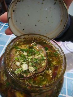 Berenjenas al escabeche Vegetable Recipes, Meat Recipes, Whole Food Recipes, Vegetarian Recipes, Cooking Recipes, Healthy Recipes, Latin American Food, Plant Based Whole Foods, Salty Foods