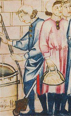 H.1275. Cantigas de Santa María de Alfonso X el Sabio, Biblioteca del Monasterio de San Lorenzo de El Escorial, Madrid (detalle)