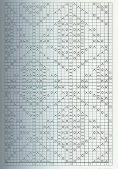 lace knitting stitches japanese chart