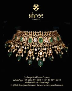 Große Halsreifen im Nizami-Stil - Schmuck Design Indian Jewelry Sets, Indian Wedding Jewelry, Bridal Jewelry Sets, India Jewelry, Bridal Jewellery, Indian Bridal, Pakistani Jewelry, Latest Jewellery, Vintage Jewellery