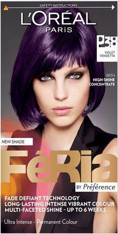 feria hair color purple - Google Search