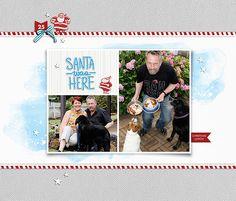 Days of December 2014 : 25 (page 1) - Digital Scrapbooking Ideas - DesignerDigitals
