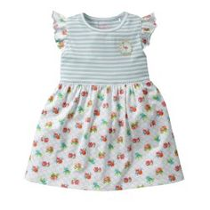Jurk Room Seven Thuja #dress #summer #girls #floral #meisjes #kinderkleding #babsilou #roomseven