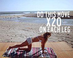 Beach workout – Fridas Peach