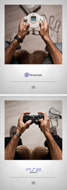 A Nostalgic Photo Series by Artist Javier Laspiur That Shows His Video Game…