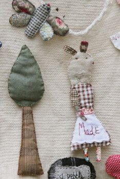 Julie Arkell Hand Stitched Picture Brooches
