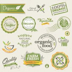 10 free vintage labels and badges packs
