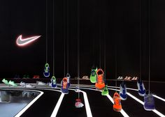 Nike Free 2013 installation by Studio at Large, Beijing exhibit design