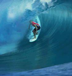 "wslofficial: "" #BillabongProTahiti August 14 - 25 Surfer | John John Florence Video/GIF | wslofficial """