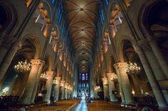 Canicule à paris Notre Dame de Paris