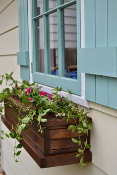 KRUSE'S WORKSHOP: How To Build Flower Boxes