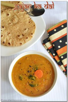 Carrot Dal Tadka Recipe (Gajar Dal) | No Onion No Garlic Recipes
