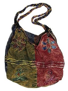 Braided Flower Bag - Interestingly, I actually like it!