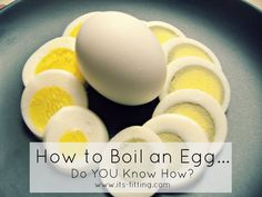 Do YOU know how to boil an egg? Get ready for Easter with this easy way to make the PERFECT hard boiled egg!