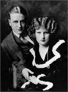 Zelda and F. Scott Fitzgerald, author of The Great Gatsby