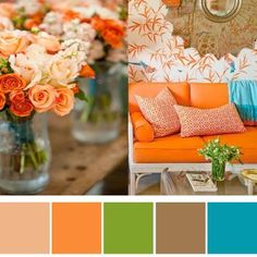 Pretty colour palette from my favourite pins: