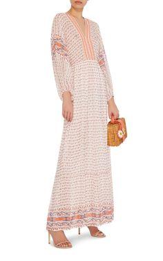 Madhi Peasant Maxi Dress by Ulla Johnson