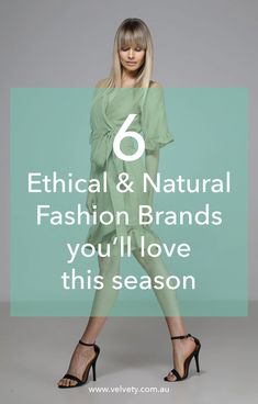 6 Ethical, natural and vegan fashion brands you will love this season that are plastic free. Eco-friendly and stylish for many seasons to come. Vegan Fashion, Fast Fashion, Slow Fashion, Fashion Outfits, Fashion Women, Ethical Fashion Brands, Ethical Clothing, Fashion Bloggers, Women's Clothing