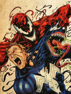 Tagged with spiderman, marvel, carnage, venom, maximum carnage; Marvel Dc Comics, Venom Comics, Hq Marvel, Marvel Venom, Marvel Series, Marvel Comic Books, Comic Book Characters, Comic Books Art, Captain Marvel