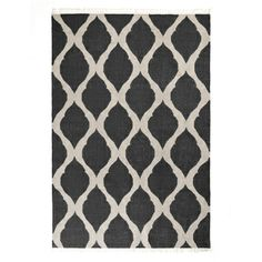 Tahla Rug in Charcoal aura home