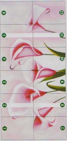 Counted Cross Stitch Patterns, Cross Stitch Designs, Cross Stitch Embroidery, Modern Cross Stitch, Cross Stitch Flowers, Calla Lily, Cross Stitching, Flower Designs, Crafts To Make