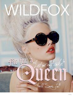 wildfox marie antoinette glasses fashion 01 Wildfox Launches Marie Antoinette Inspired Sunglasses Lookbook