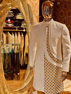 #mensfashion #menswear #indiangroom #groom #handmade #indowestern #hyderabad #fashion #design #sherwani #indianfashion #indowestern #mensfashion #menswear #style #dresses #embroidery #pattern #zari #handmade #hyderabad #delhi #mumbai #banglore #ethnic #ethnicwear #instagood #instagram #art Fashion Suits, Men's Fashion, Fashion Design, Indian Groom Dress, Designer Suits For Men, Indian Men Fashion, Indian Man, Sherwani, Baby Boy Fashion