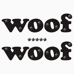 Woof Woof human pup T-shirt design with metal stud effect for those who can't get enough Puppy Love. Puppy Play, Puppy Love, Dd Lg, Bear Attack, Play S, Little My, Submissive, Snuggles, Leather Men