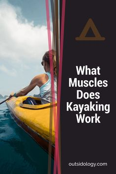 Kayaking is great for the body, but you may not grasp how good. Here you can learn what muscles does kayaking work to deliver these health and fitness benefits Rv Camping Tips, Kayak Camping, Canoe And Kayak, Kayak Fishing, Hiking Tips, Campsite, Kayaking Quotes, Kayaking Tips, Kayak For Beginners