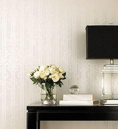 Silk texture #wallpaper just needs a little sunlight to bring a wall to life. Beautiful silk textured wallpapers from http://wallcoverings2u.com/16-silk-classics