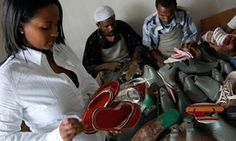 Ethiopia firm recycling tires into shoes does big business via internet | World news | The Guardian