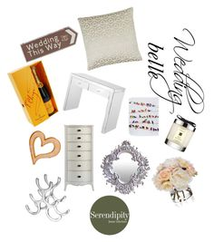 """""""Wedding Belle - Wedding Gift Inspiration"""" by serendipityhome ❤ liked on Polyvore featuring interior, interiors, interior design, home, home decor, interior decorating, Diane James, Jo Malone, wedding and weddings"""
