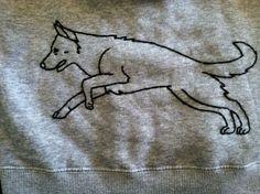 German Shepherd Sweatshirt    Like, repin, share! :)
