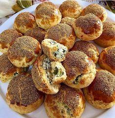 Kremalı lor peynirli poğaça
