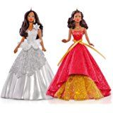 Amazon.com: QXI1352 Celebration Barbie Special 2009 Hallmark Ornament Edition inspired by Holiday Barbie Doll African American: Home & Kitchen