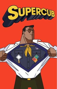Superman * Supercub clip art graphic for Cub Scouts.  This site has a lot of great neckerchief slide ideas and also other great Cub Scout Ideas compliments of Akelas Council Cub Scout Leader Training: Utah National Parks Council has planned this exciting 3 1/2 day Cub Scout Leader Training. This fast-paced and inspiring training covers lots of Cub Scout Info and Webelos Outdoor Experience, Cub Scouts with disabilities and much more.