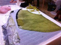 Sleeveless felt vest, days five and six of Dagmar's wonderful workshop | Clasheen by Nicola Brown