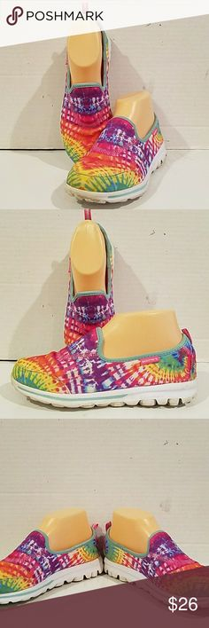 1ab7527166a1 Shop Women s Skechers size 5 Athletic Shoes at a discounted price at  Poshmark. Description  Ladies Go Walk slip on sneakers from Skechers (sz  The sneakers ...