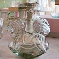 recycled glass Rocking Horse cookie jar, www.mimiscookiebar.com
