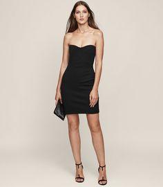 0ab815334e2 Miranda Strapless Bodycon Dress  sponsored  fashion  dress  lbd   littleblackdress  clothes. Office DressesDresses For WorkSummer ...