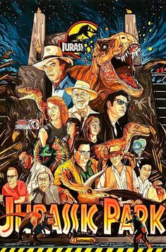 03 13 2019 12 '' Jurassic Park'' by Tim Clinard Jurassic Park Poster, Jurassic Park Tattoo, Jurassic Park Trilogy, Jurassic Park 1993, Jurassic World Dinosaurs, Jurassic World Fallen Kingdom, Jurassic Park World, Michael Crichton, Jurrassic Park